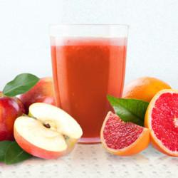 Šťava z jablka a grapefruitu
